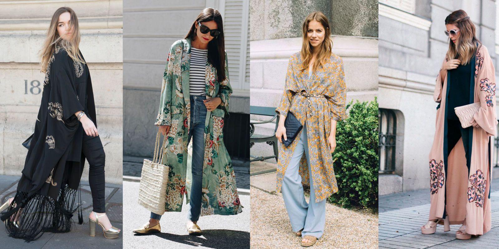 Kimono para vestido de fiesta