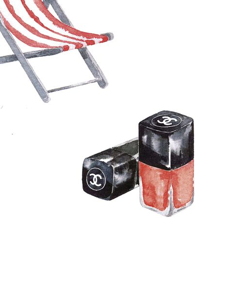 Red, Outdoor furniture, Carmine, Paint, Still life photography, Rectangle, Illustration, Cylinder, Drawing, Painting,
