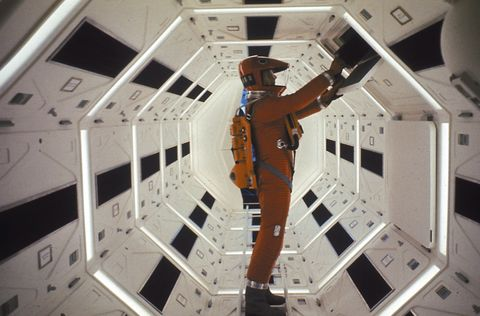 Astronaut, Space, Ceiling, Room, Spacecraft,