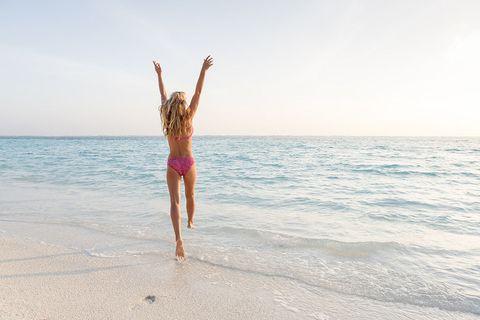 People in nature, People on beach, Sea, Vacation, Fun, Beach, Summer, Ocean, Sky, Water,