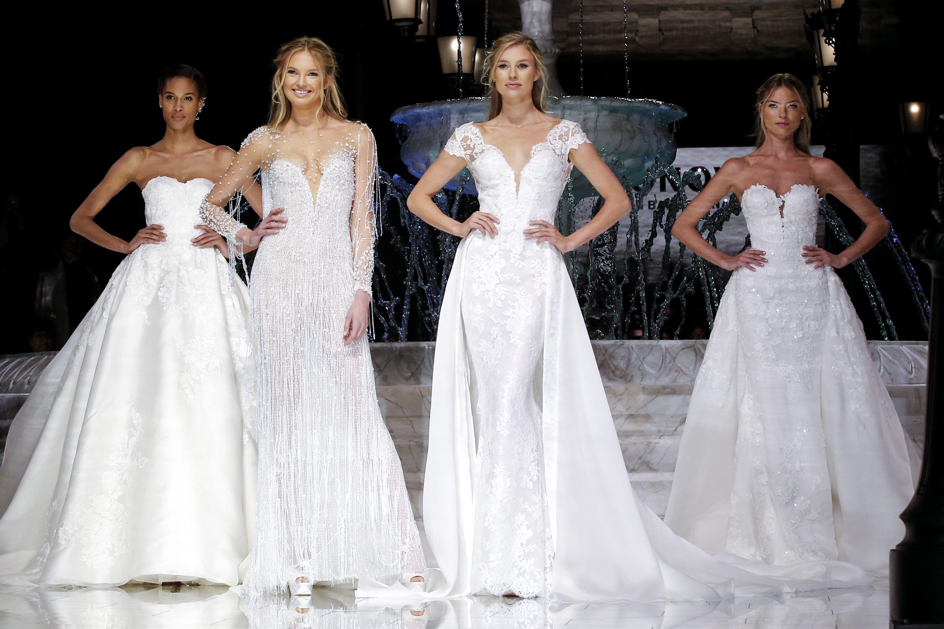 Desfile de Pronovias en Barcelona Bridal Week 2017