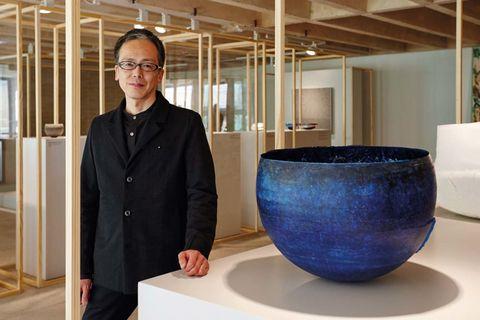Loewe craft prize. Mención Especial :Yoshiaki Kojiro