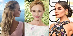 Celebrities with braided hairstyles - plaits for hair inspiration