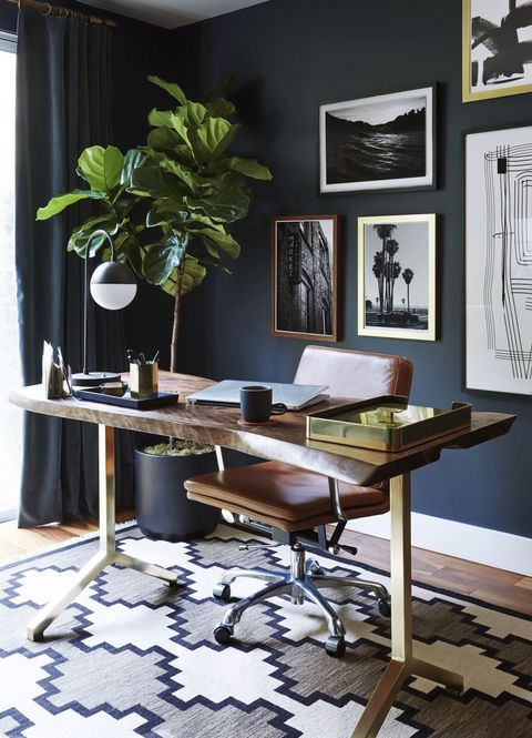 Furniture, Room, Desk, Interior design, Table, Green, Writing desk, Wall, Computer desk, Office,