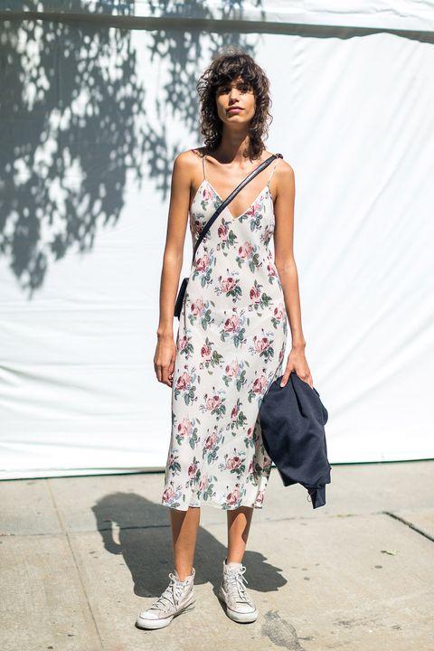 da5c31f4f 5 maneras (estilosas) de llevar un vestido de flores