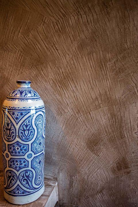 Mortex, revestimiento mineral con aspecto de hormigón pulido pintados