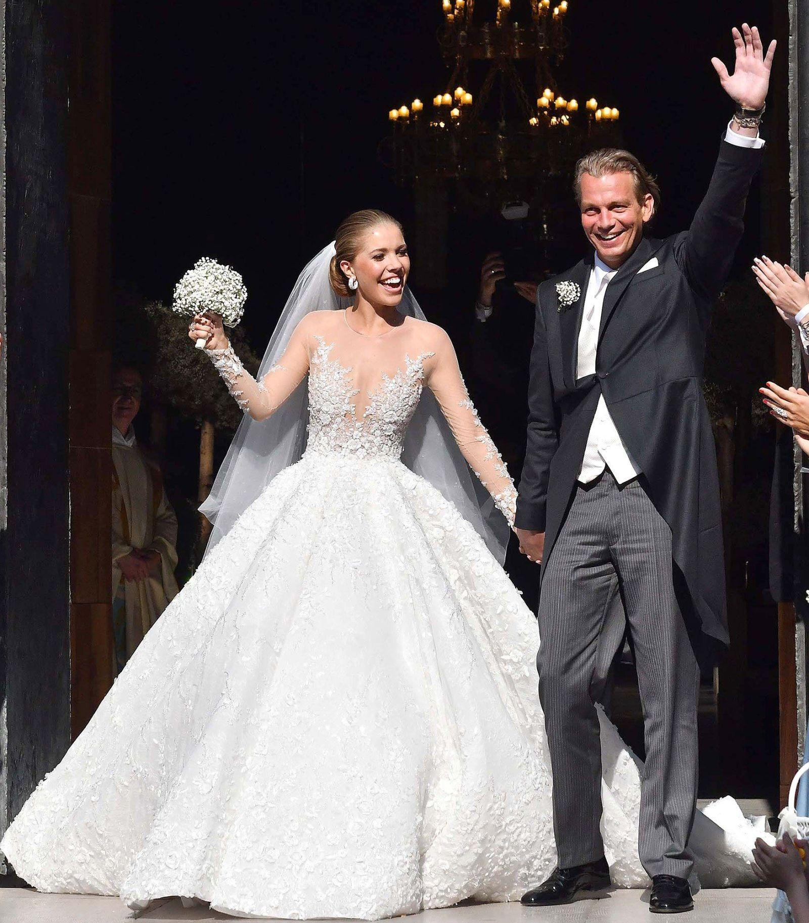 El vestido de novia ms brillante del mundo