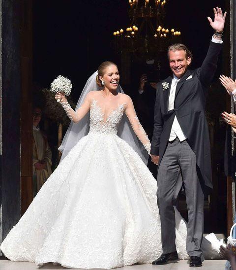 11aab4dd36 El vestido de novia más brillante del mundo