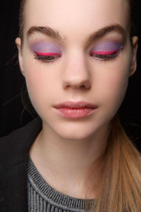 Face, Eyebrow, Hair, Lip, Eyelash, Skin, Cheek, Pink, Beauty, Eye shadow,