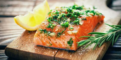 Smoked salmon, Dish, Food, Cuisine, Ingredient, Salmon, Fish, Fish, Salmon, Garnish,