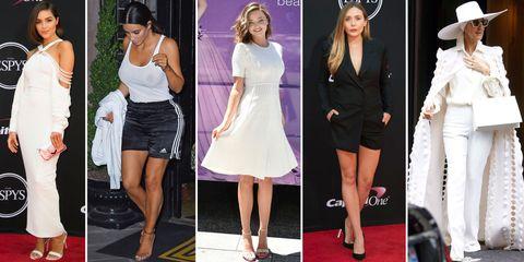 Clothing, White, Fashion model, Fashion, Dress, Footwear, Court shoe, Leg, Shoe, Cocktail dress,
