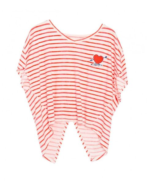 Product, Sleeve, White, Baby & toddler clothing, Carmine, Pattern, Active shirt, Coquelicot, Sports jersey, Top,