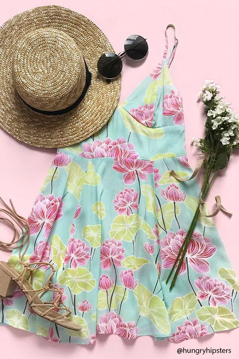 Clothing, Pink, Sun hat, Hat, Headgear, Pattern, Pattern, Fashion accessory,
