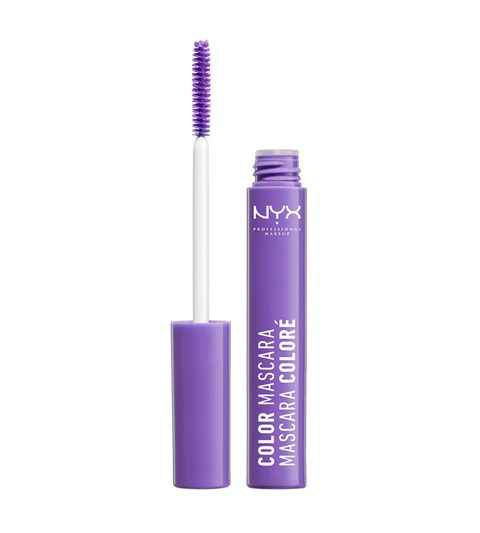 Violet, Purple, Cosmetics, Eye, Material property, Mascara, Liquid, Eyelash, Eye liner,