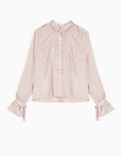 Product, Brown, Collar, Sleeve, Textile, White, Fashion, Tan, Beige, Ivory,