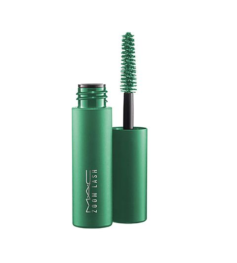 Green, Mascara, Cosmetics, Material property, Cylinder,