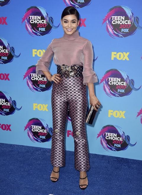 Actress and singer Vanessa Hudgens at the Teen Choice Awards on Sunday, Aug. 13, 2017, in Los Angeles