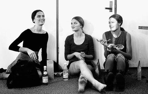 Black, White, Photograph, Black-and-white, Monochrome, Snapshot, Sitting, Monochrome photography, Fun, Photography,