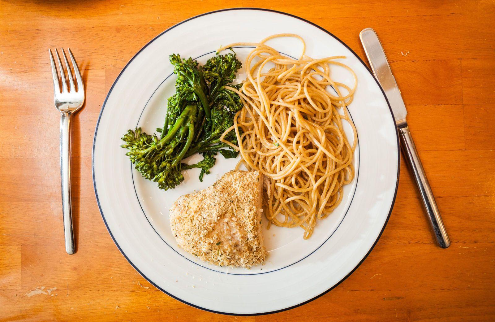 Como dividir tu plato para perder peso