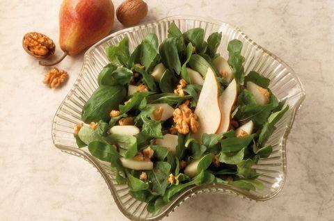 Food, Salad, Dish, Spinach salad, Vegetable, Cuisine, Leaf, Ingredient, Spring greens, Vegetarian food,
