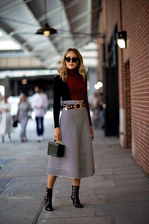 Clothing, Street fashion, Fashion, Snapshot, Shoulder, Footwear, Fashion model, Dress, Fashion design, Outerwear,