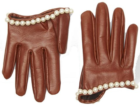 Glove, Safety glove, Personal protective equipment, Brown, Fashion accessory, Leather, Hand, Finger,