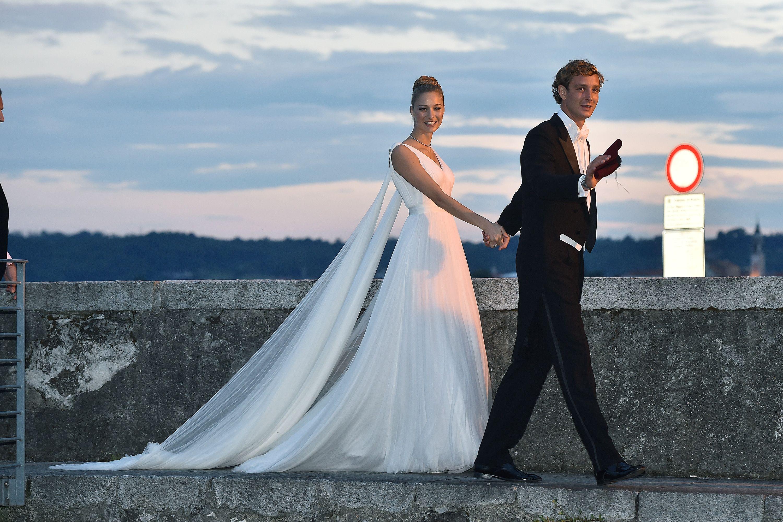 Los segundos vestidos de novia de las famosas
