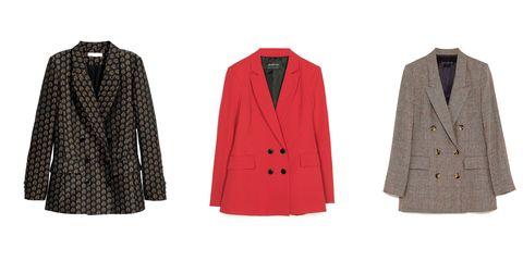 Clothing, Outerwear, Coat, Overcoat, Jacket, Blazer, Sleeve, Suit, Collar, Formal wear,