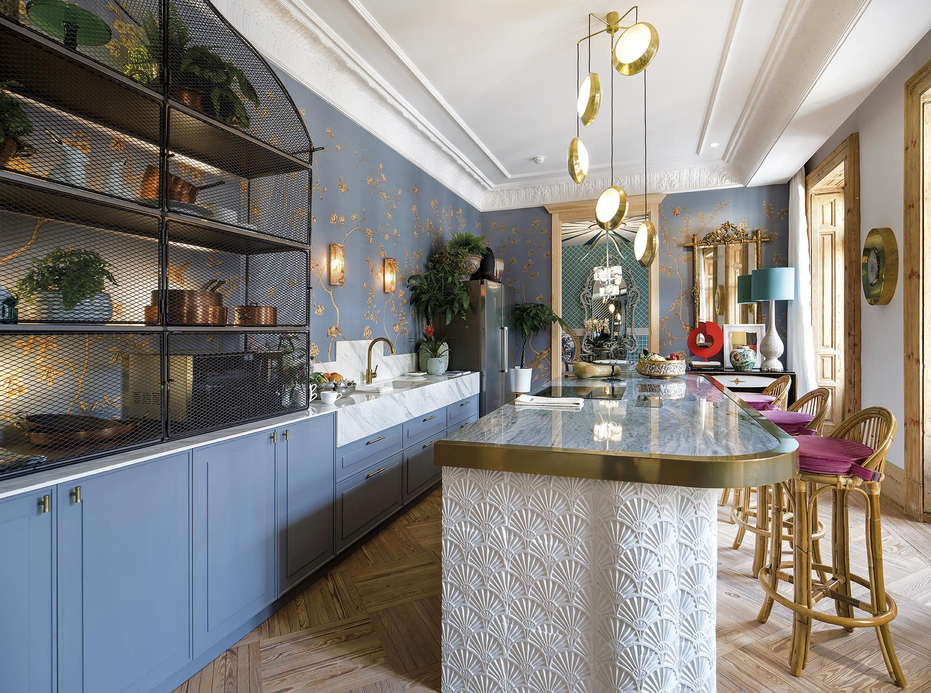 Moderno Galería De Cocina De Diseño De Alianza Motivo - Ideas de ...