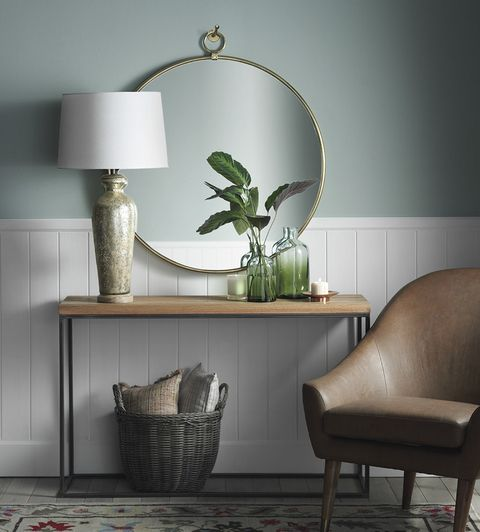 Furniture, Room, Interior design, Floor, Wall, Table, Lighting, Living room, Leaf, Houseplant,