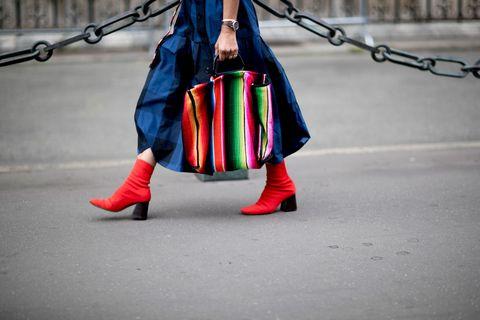 Footwear, Outerwear, Leg, Street fashion, Stock photography, Shoe, Costume,