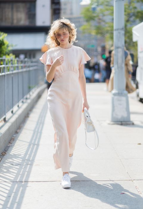 White, Clothing, Street fashion, Shoulder, Photograph, Fashion, Dress, Pink, Beauty, Snapshot,