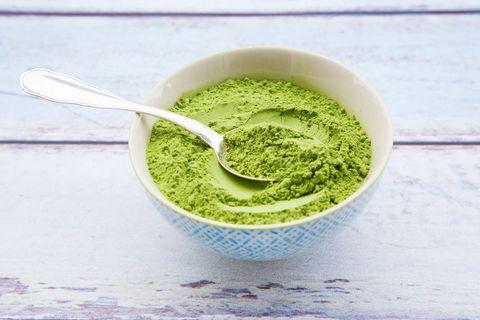 Food, Green sauce, Matcha, Cuisine, Ingredient, Dish, Superfood, Pesto, Vegetarian food, Spinach,