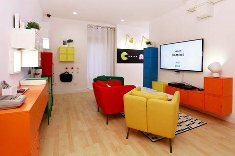 Hotel salón Ikea en Madrid