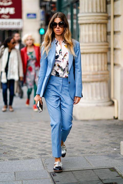 Clothing, Jeans, Street fashion, Denim, White, Fashion, Snapshot, Jacket, Outerwear, Blazer,