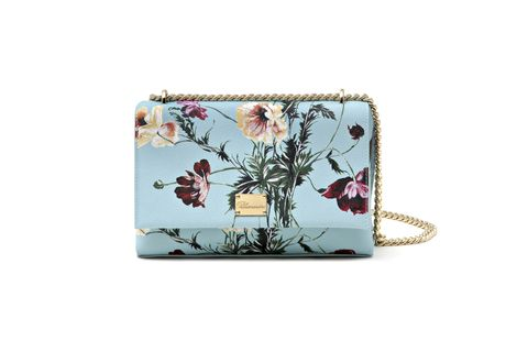 Bag, Handbag, Wristlet, Coin purse, Fashion accessory, Wallet, Plant, Shoulder bag, Wildflower, Floral design,