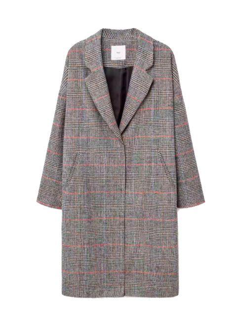 Clothing, Outerwear, Pattern, Sleeve, Plaid, Coat, Tartan, Design, Collar, Textile,