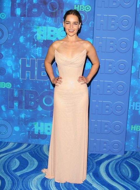 WEST HOLLYWOOD, CA - SEPTEMBER 18: Emilia Clarke attends the HBO's Post Emmy Awards reception at The London Hotel on September 18, 2016 in West Hollywood, California. (Photo by JB Lacroix/WireImage)