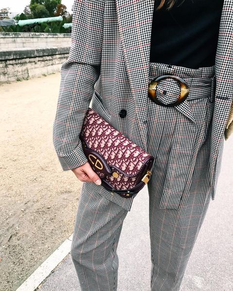 Clothing, Street fashion, Fashion, Tartan, Pattern, Footwear, Outerwear, Blazer, Plaid, Design,