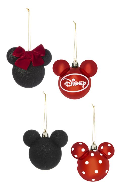 Kimball-3189901-Mickey and Minnie 4PK Decorations, Grade ROI  G, FRIT J, IB E, WK 4, E5