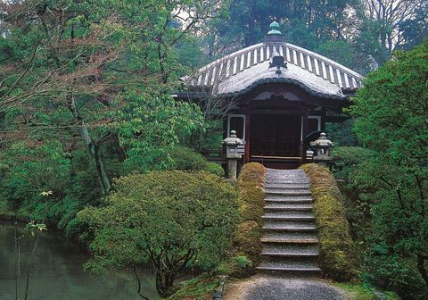 Jardines de la Villa Imperial de Katsura, en Kyoto