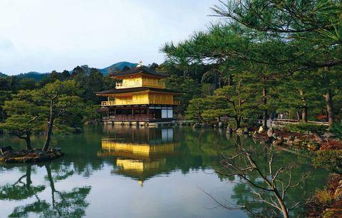 El Templo del Pabellón Dorado de Kyoto: Kinkaku-ji
