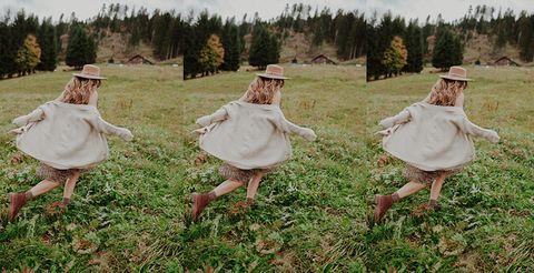 Grass, Dress, Grass family, Grassland, Outerwear, Headgear, Photography, Plant, Fashion accessory, Meadow,