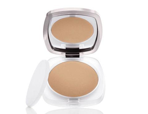 Face, Cosmetics, Skin, Face powder, Beauty, Beige, Head, Product, Brown, Cheek,