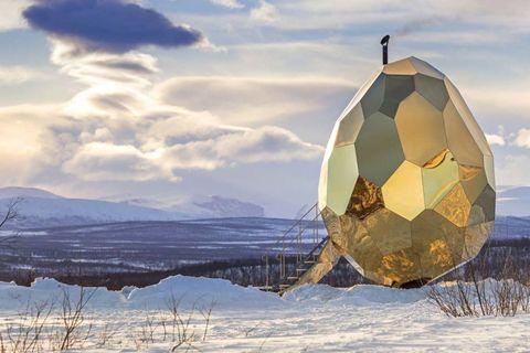 Solar Egg, la sauna de Studio Bigert & Bergström.