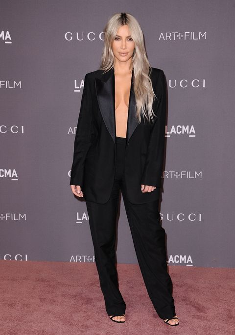 LOS ANGELES, CA - NOVEMBER 04:  Kim Kardashian attends the 2017 LACMA Art + Film gala at LACMA on November 4, 2017 in Los Angeles, California.  (Photo by Jason LaVeris/FilmMagic)