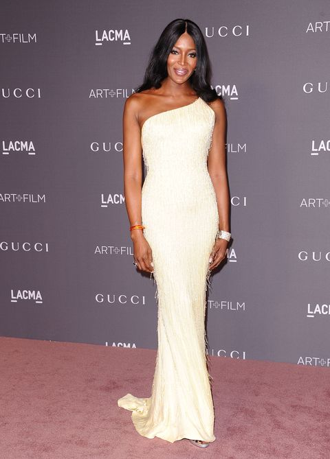 LOS ANGELES, CA - NOVEMBER 04:  Naomi Campbell attends the 2017 LACMA Art + Film gala at LACMA on November 4, 2017 in Los Angeles, California.  (Photo by Jason LaVeris/FilmMagic)