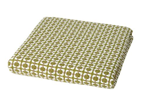 Yellow, Rectangle, Textile, Beige, Pattern, Furniture, Linens,
