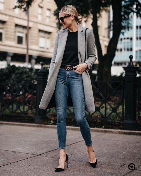 Clothing, Jeans, Street fashion, Denim, Beanie, Fashion, Outerwear, Snapshot, Footwear, Jacket,