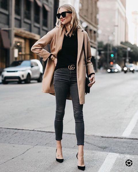 Clothing, Street fashion, Photograph, Outerwear, Snapshot, Jeans, Fashion, Coat, Footwear, Blazer,